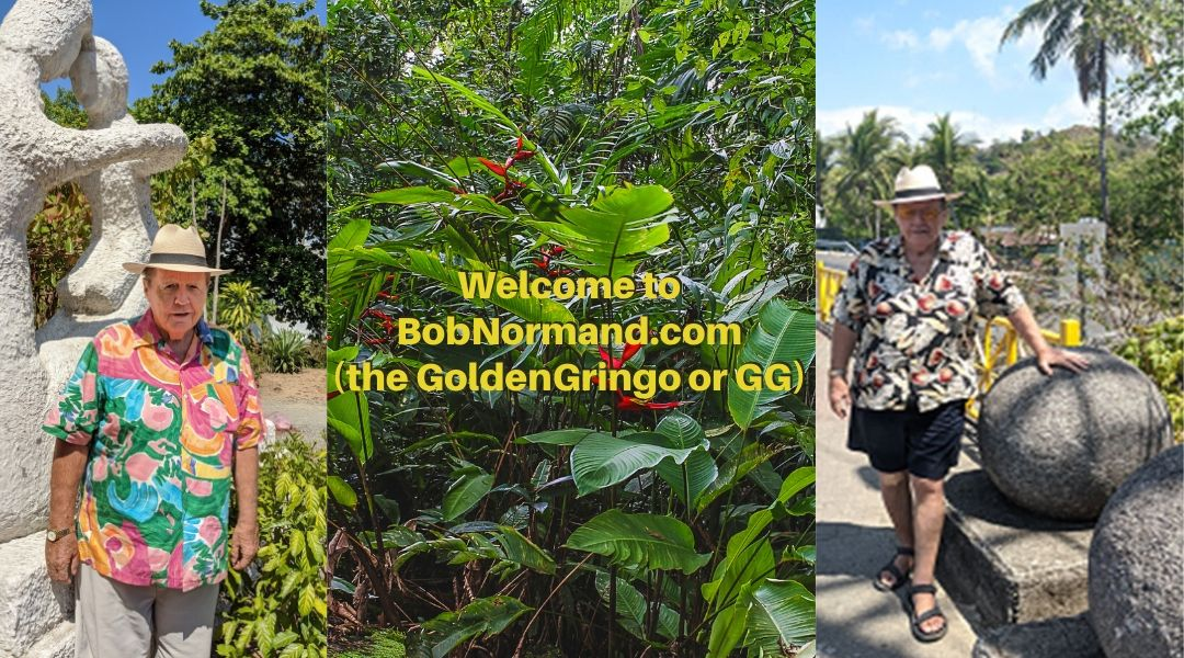 Bob Normand Golden Gringo GG Costa Rica Writer Author